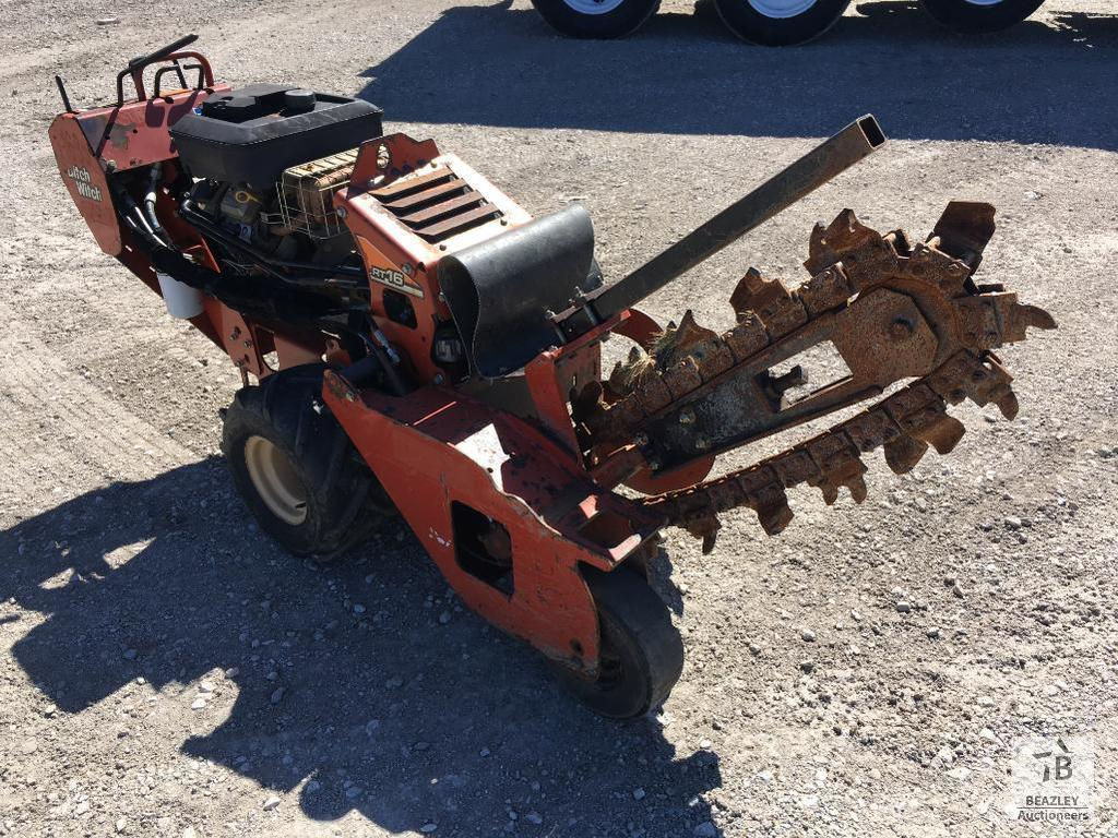 2014 Ditch Witch RT16 Walk Behind Trencher