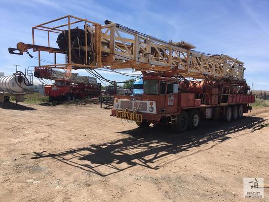 WILSON Back-In Well Service Rig [This item is being sold from 3005 FM 1936 Odessa, TX]
