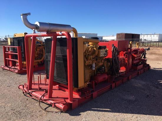 TULSA Triplex Inc TT-560 Triplex Pump