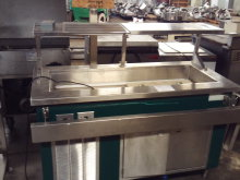 Delfield Cold Pan Serving Counter