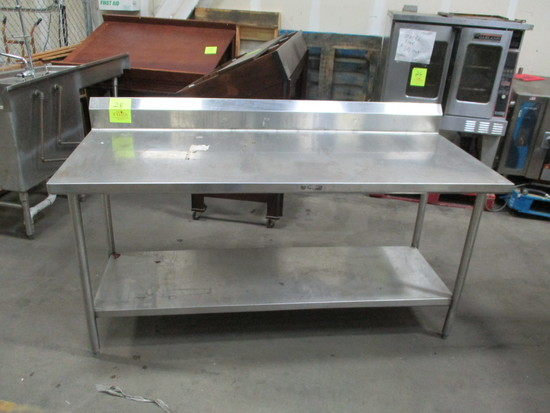 6' SS Table
