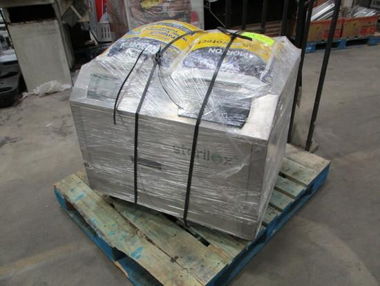 Sterilox Machine & 2 Bags of Salt