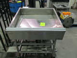 Atlantic Stainless Steel Food Bar on Casters