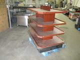 Multi Deck Merchandiser on Casters