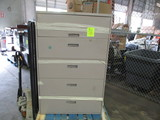 5 Drawer Laterial File Cabinet