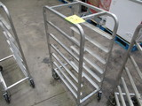 National Cart Co Aluminum Tray Cart