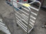 National Cart Co, Alum Tray Cart