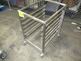 BKI Model: LTS Stainless Steel Tray Cart