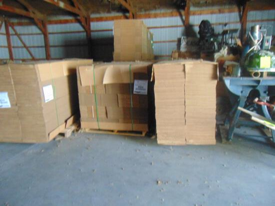 13 Pallets Of Cardboard Boxes