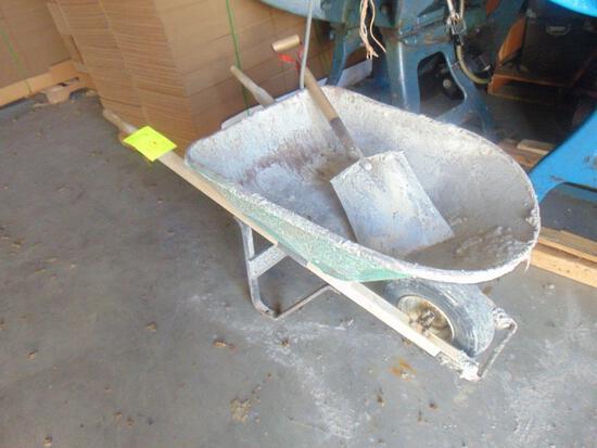Wheel Burrow And Shovel