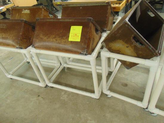 Box Holders With Totes And Partial Gloves