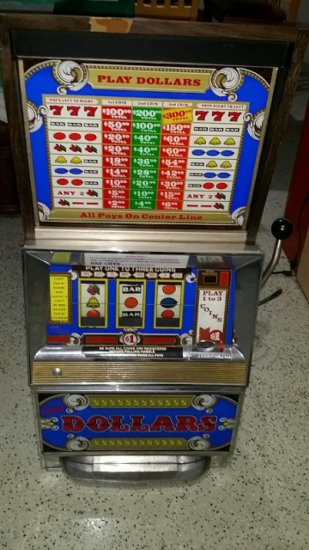 1974 Bally Slot Machine