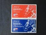 2005 Uncirculated Philadelphia & Denver Coin Sets