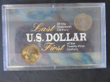 U.S. Minted Coin Set - 1999 & 2000 Dollar Coins