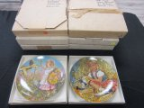 Lot of 8 Collector Plates