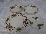 Ch 5 Holiday place setting: Holly Bells