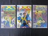 Lot of 3 Vintage Marvel Comics 1989-1991