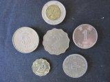 Lot of 6 1980-1997 Hong Kong Coins