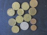 Lot of 13 Dutch Coins - 1940-1966