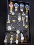 LOT OF MISC. WATCHES Untested SOLD AS IS 15+ PCS