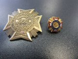 Vintage VFW Convention & Campaign Pins