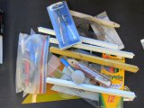 LOT OF DRAFTING SUPPLIES -Compass, rulers & More