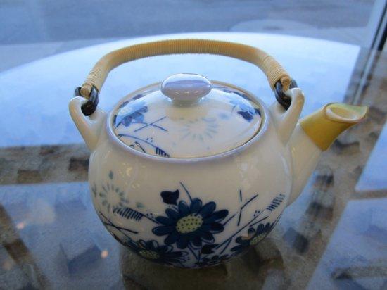 Small Asian Porcelain Tea Pitcher