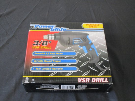 "Power Glide Variable Speed 3/8"" Drill"