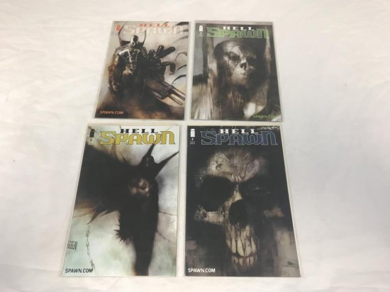 Hell Spawn issues 1-4 Image Comics