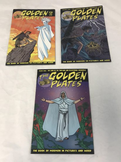 The Golden Plates the Book of Mormon Comics 1-3