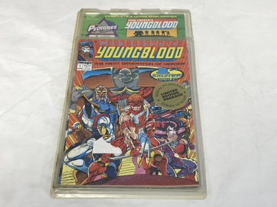 YOUNGBLOOD #1-4 PEDIGREE LIMITED EDITION COLLECTOR