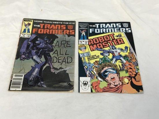 Lot of 2 TRANSFORMERS Comics 1980's