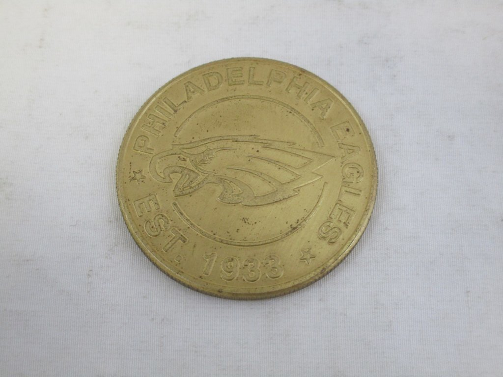 Sep 8, 2003 Eagle Vs Bucs NFL Flip Coin