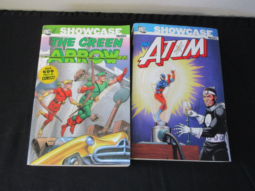 Lot of (2) DC SHOWCASE PRESENTS Books