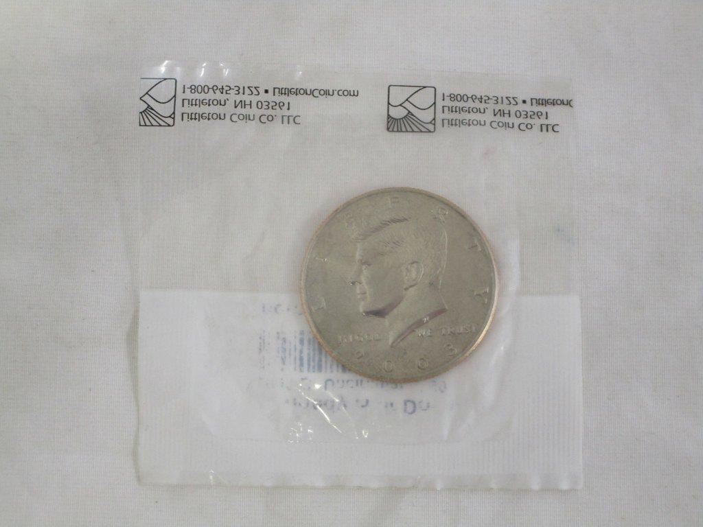 2003 Kennedy Uncirculated Half Dollar -Not Silver