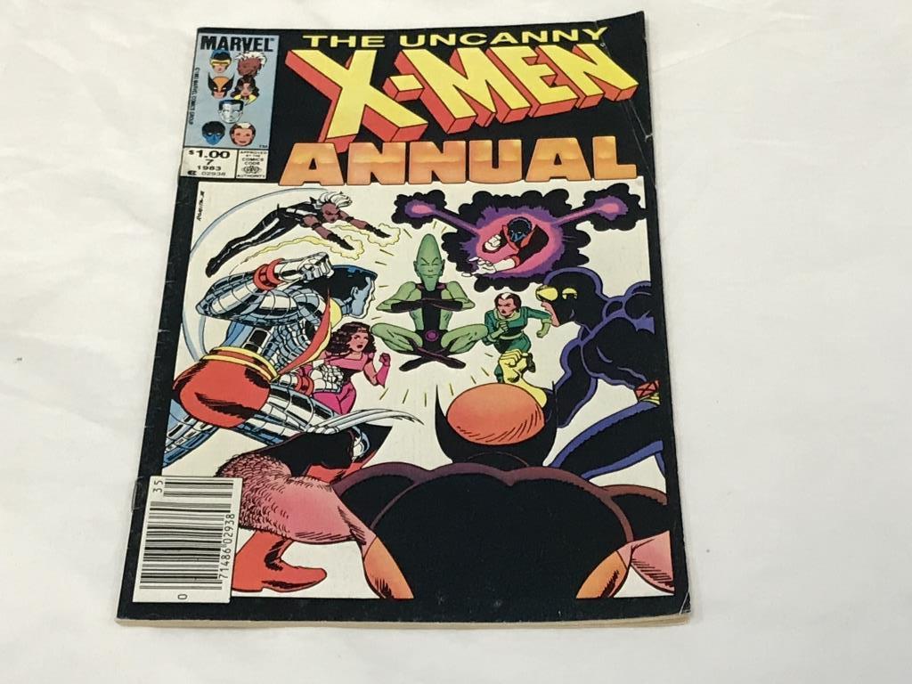 Uncanny X-Men 1983 Annual #7 Marvel Comics
