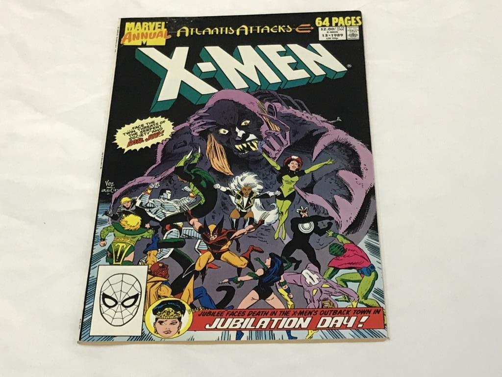 Uncanny X-Men Annual #13 Marvel Comics 1989