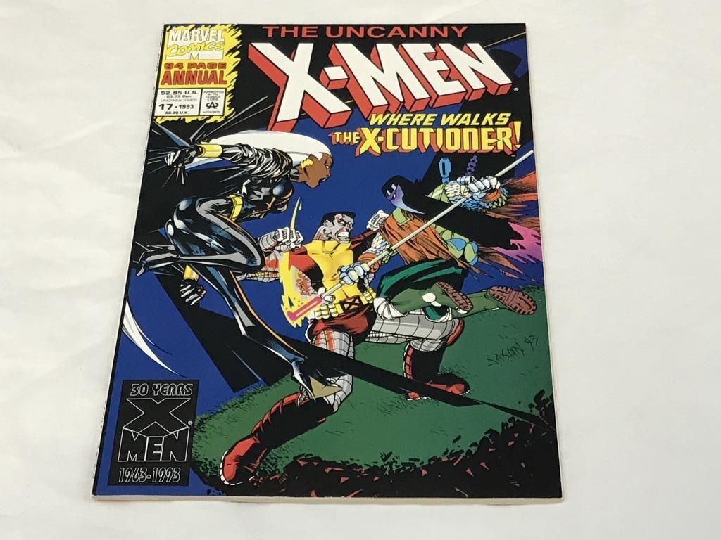 The Uncanny X-Men Annual #17 Marvel Comics 1993