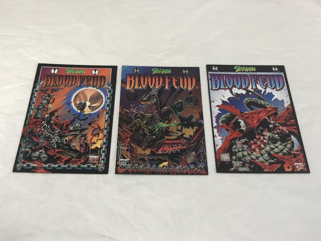 Lot of 3 Spawn Blood Feud  Image Comics