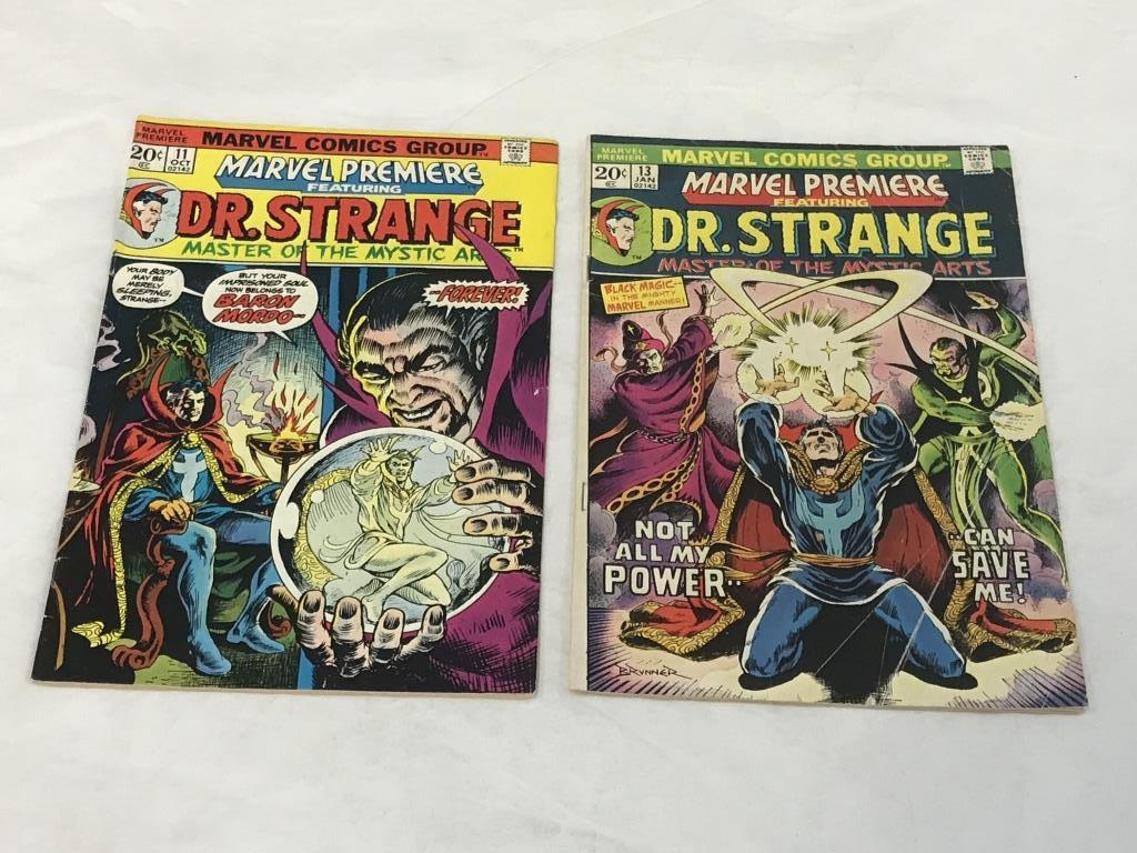 Marvel Premiere #11 & #13  DR STRANGE Comics