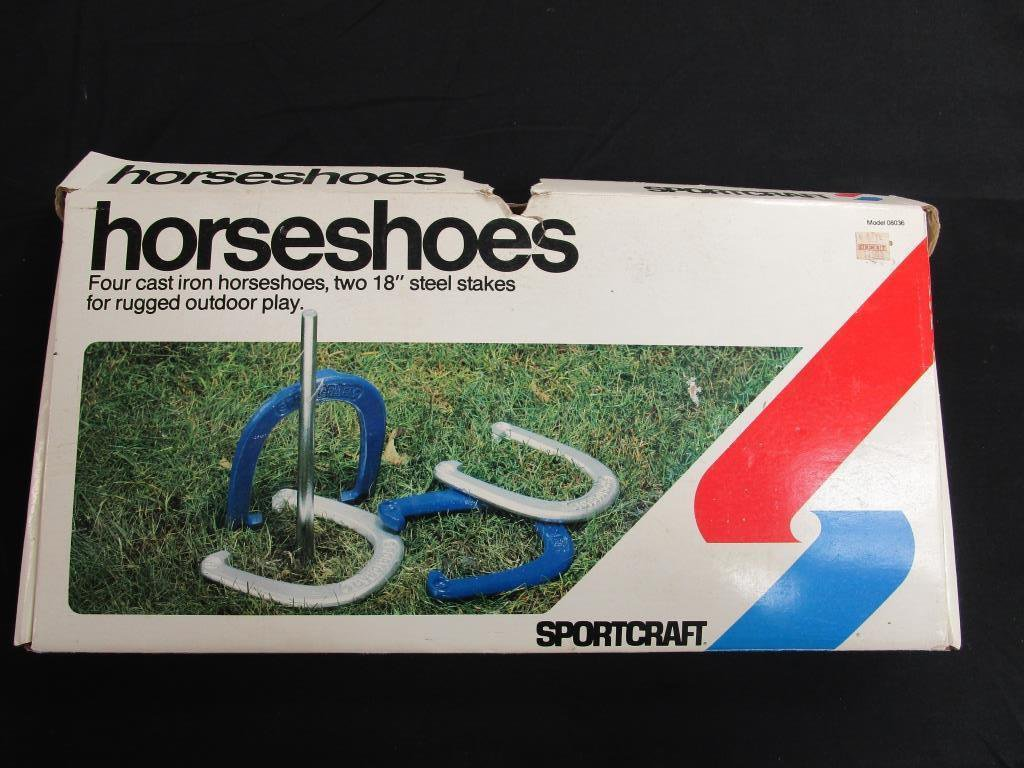 Horse Shoe Set without Spikes