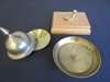 Lot of 3 Brass Items