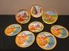 Large Lof of 8 Vintage McDonald Melamine Plates