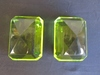 Lot of 2 Crystal Paper Weights