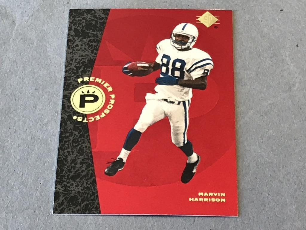 Lot Marvin Harrison Colts 1996 Ud Sp Rookie Card Proxibid