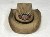 2014 STURGIS Motorcycle Rally Straw Cowboy Hat