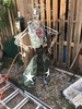 Metal Sculpture Cowboy