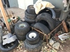 Lot of 15 plus ATV tires