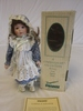 "Seymour Mann Porcelain 13"" Debbie Doll NEW"