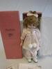 "Bradley's Dolls 12"" Pouty Polly Doll NEW"